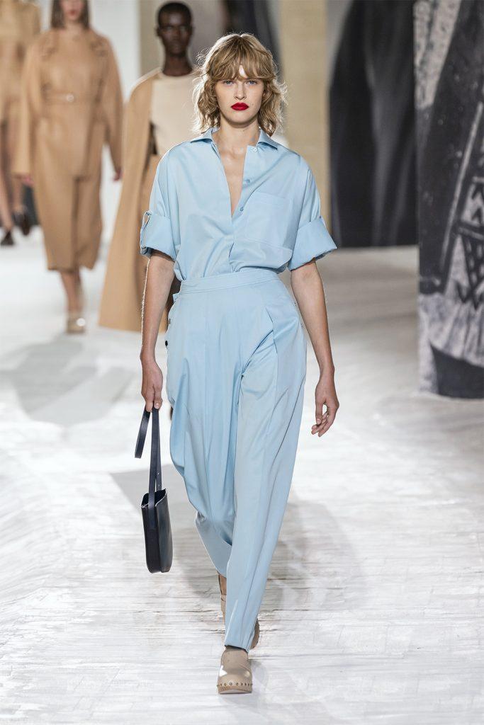 Надоел диджитал формат: Hermès провели классическое шоу на Неделе моды