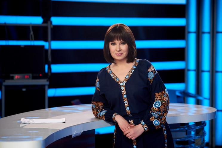 Телеведущая Алла Мазур насладилась видами Киева с высоты птичьего полета