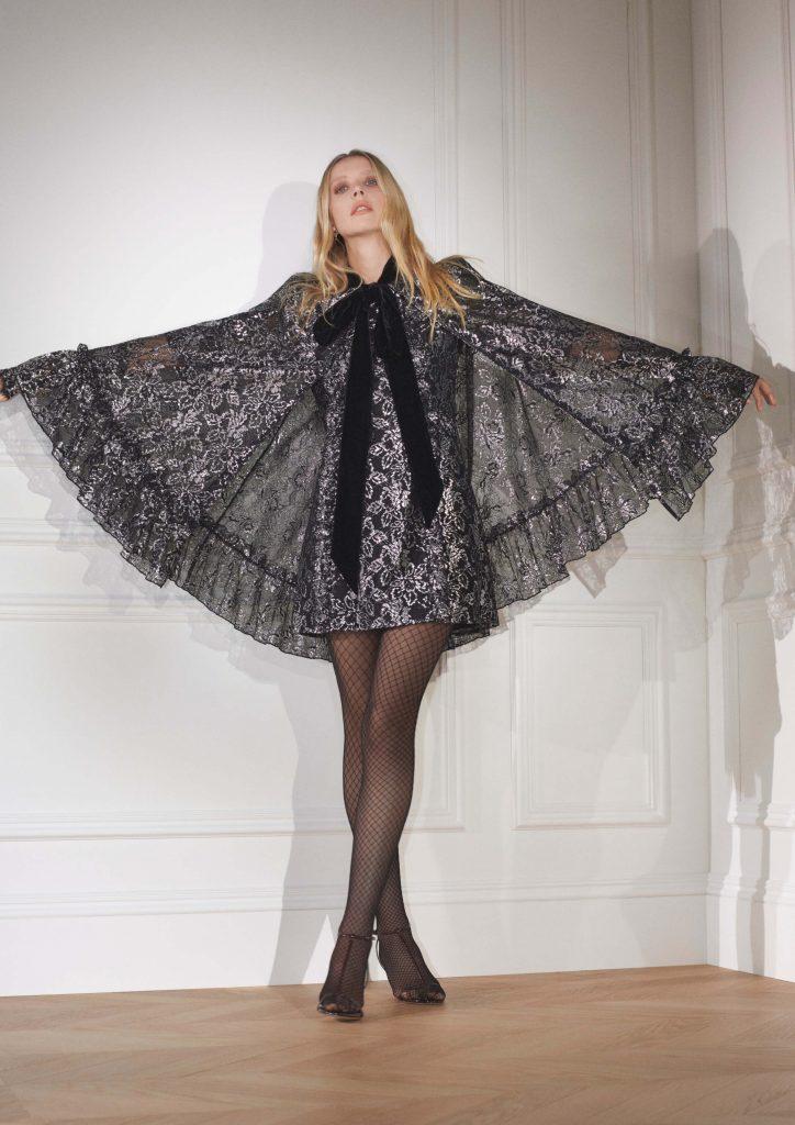 Кружево, велюр и черный цвет: что показали H&M в коллаборации с The Vampire's Wife