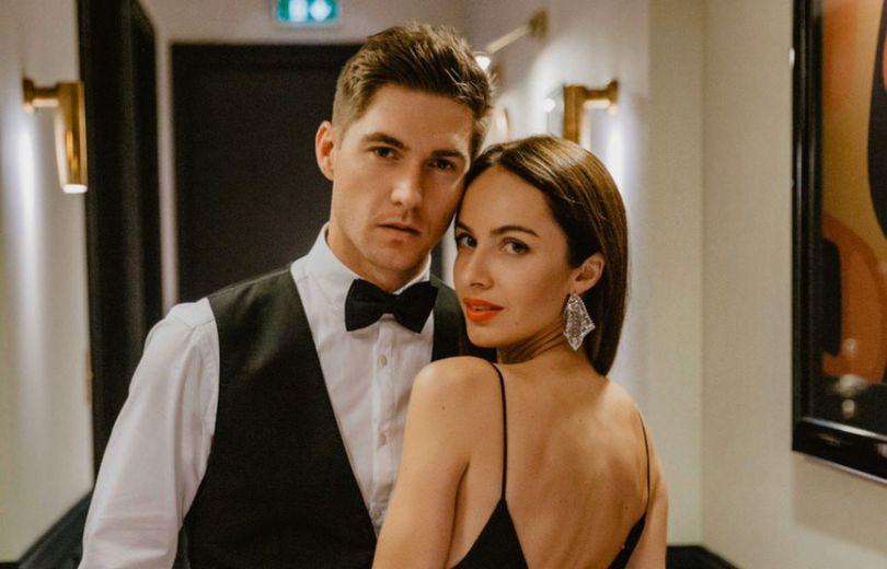 Появились первые свадебные фото Владимира Остапчука и Кристины Горняк