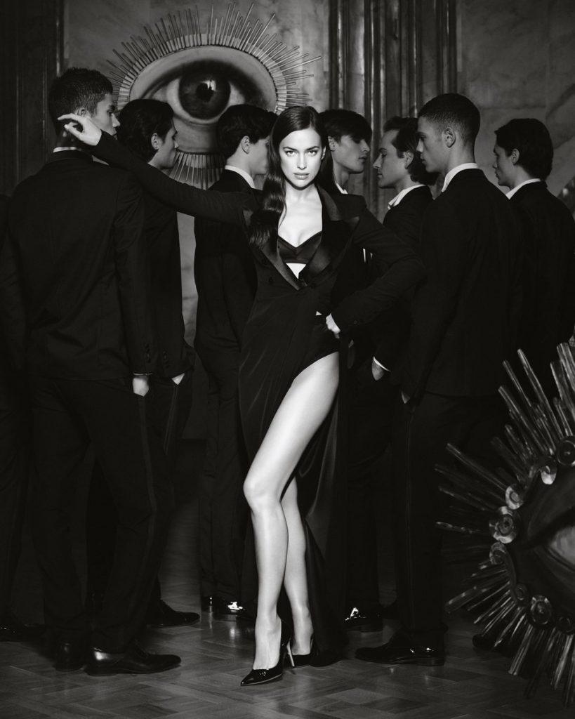 Сексуальная Ирина Шейк снялась в кампейне от Jean Paul Gaultier