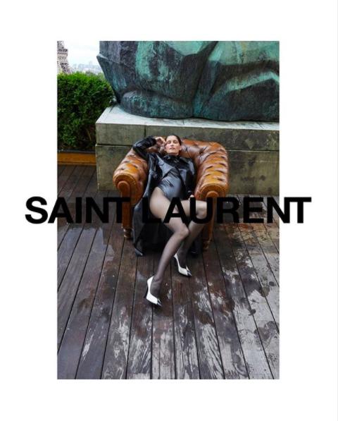 Чувственные кадры: Saint Laurent показывает кампейн зимней коллекции