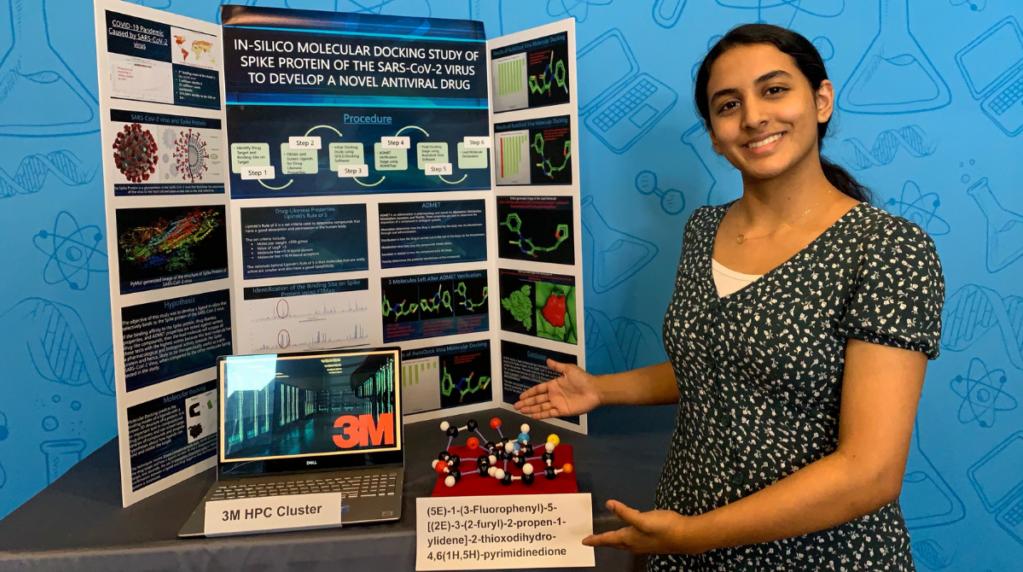14-летняя девочка выиграла приз за то, что нашла потенциальное лекарство от COVID