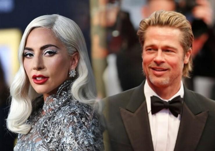 Леди Гага сыграет в боевике с Брэдом Питтом