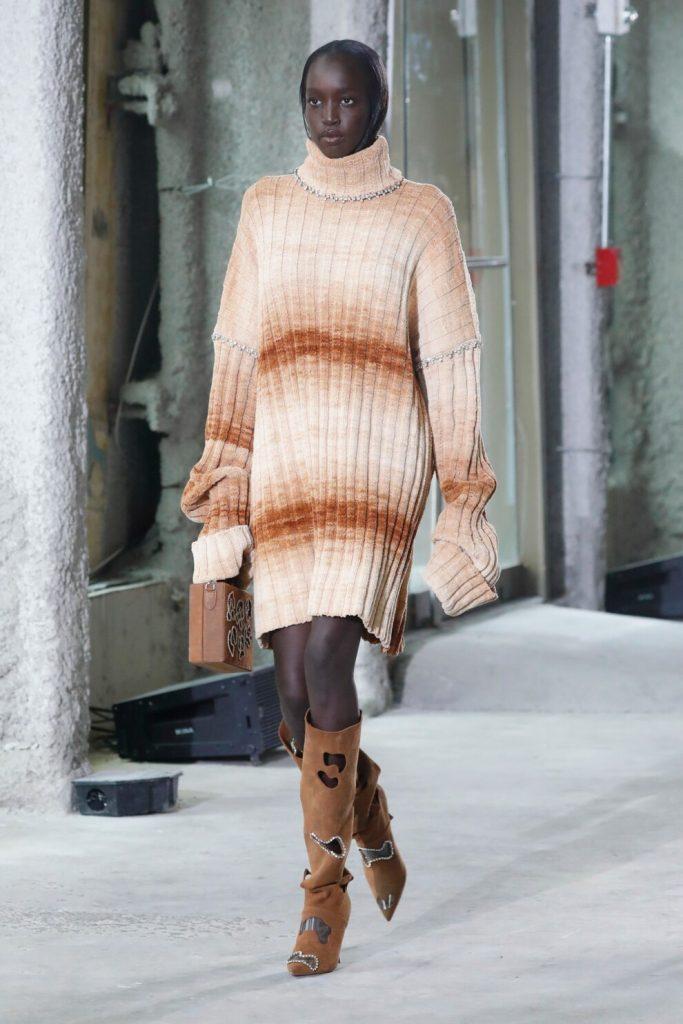 Платье-свитер: как носить маст-хэв зимнего сезона
