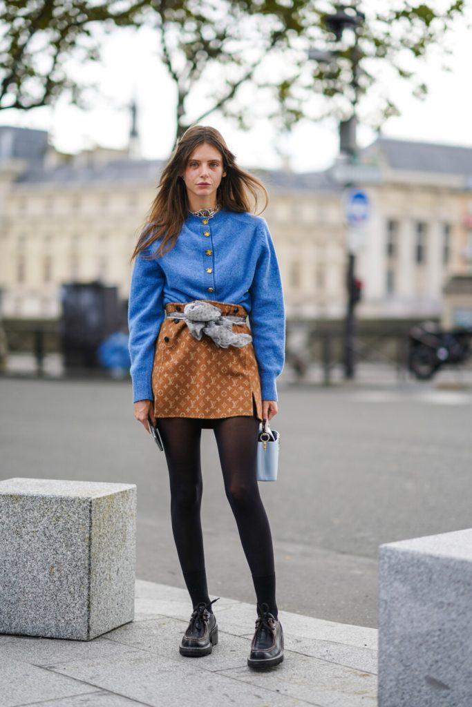 Комфортная женственность: юбка и свитер – трендовый комплект на осень 2020