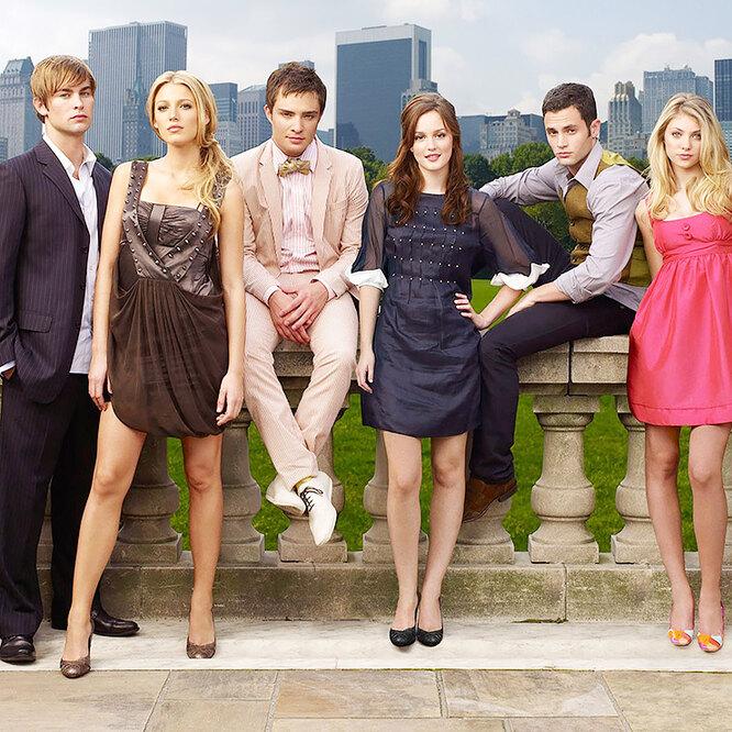 Опубликовали первые кадры с перезапуска молодежного сериала «Сплетница»