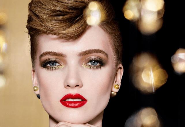 Золото и красная помада: DIOR выпустили новогодний коллекцию для макияжа