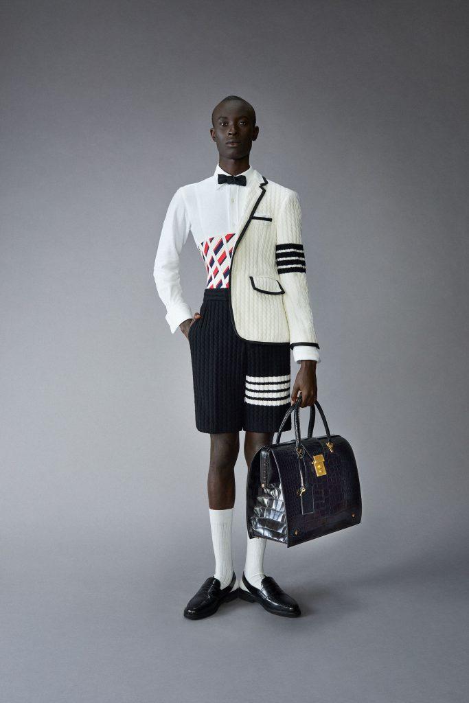 Корсеты для мужчин: Thom Browne показывают, как носить их стильно