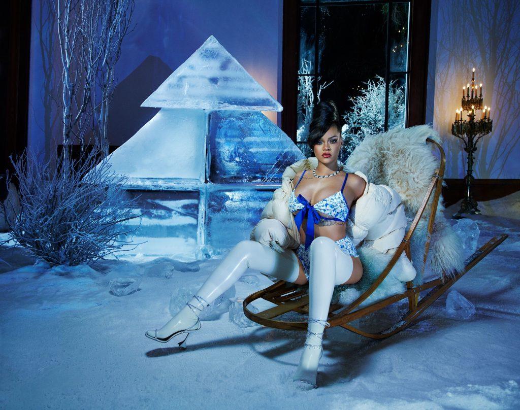 Сексуальная зима: Savage x Fenty презентовали первые кадры горячего кампейна