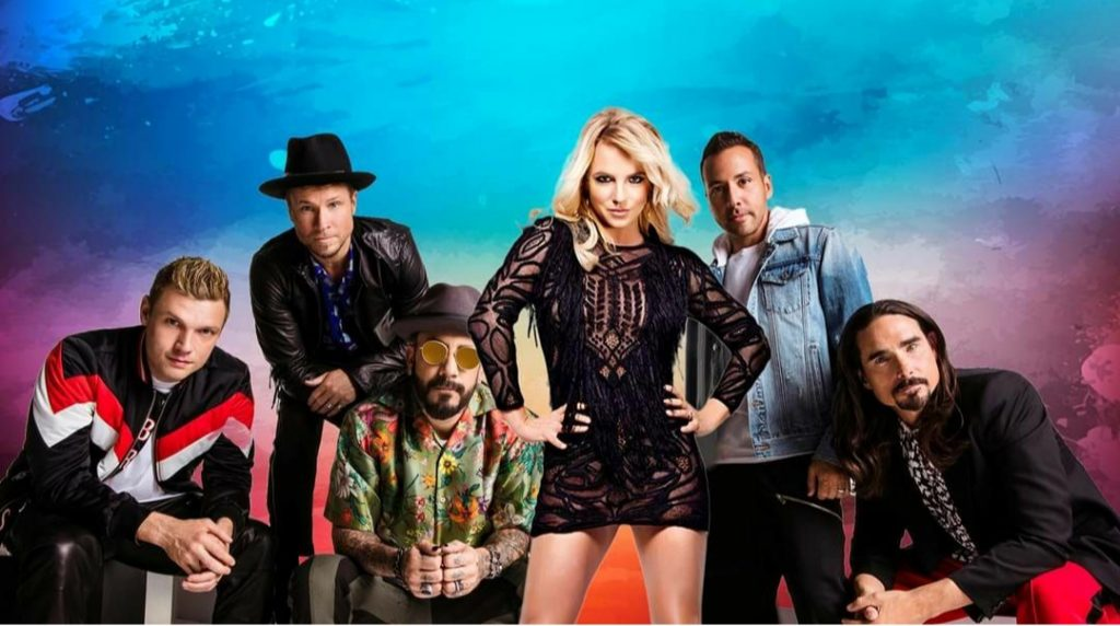 Бритни Спирс вместе с Backstreet Boys презентовали новую песню