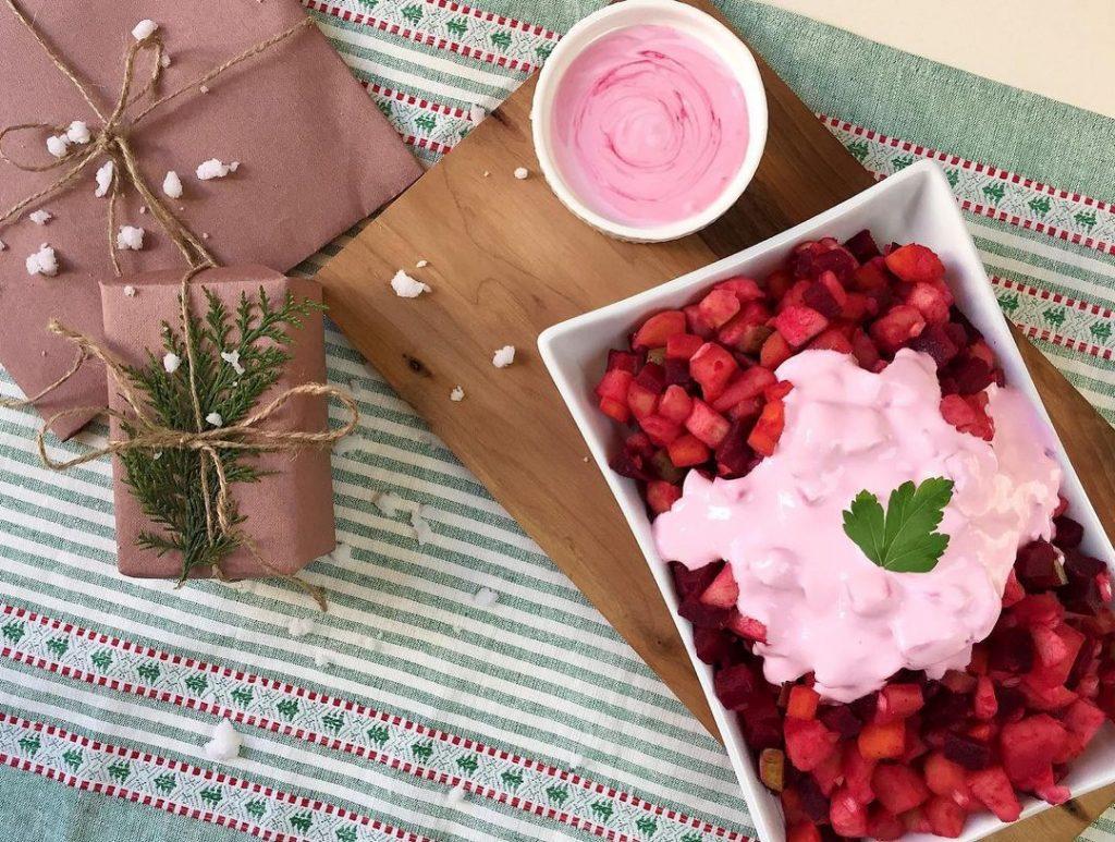 Финская версия «Винегрета»: вкусный нежирный овощной салат за 10 минут