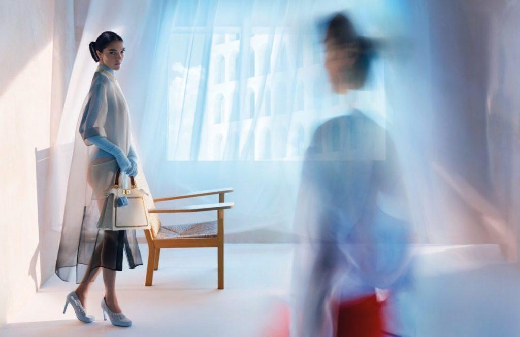 Призраки моды: FENDI показывают весенний кампейн