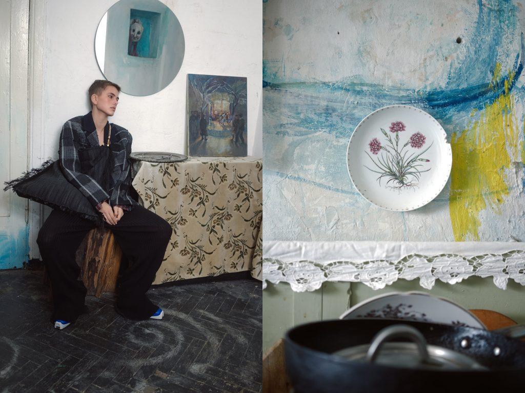 Искусство рядом: Litkovskaya сняли кампейн в доме украинского художника