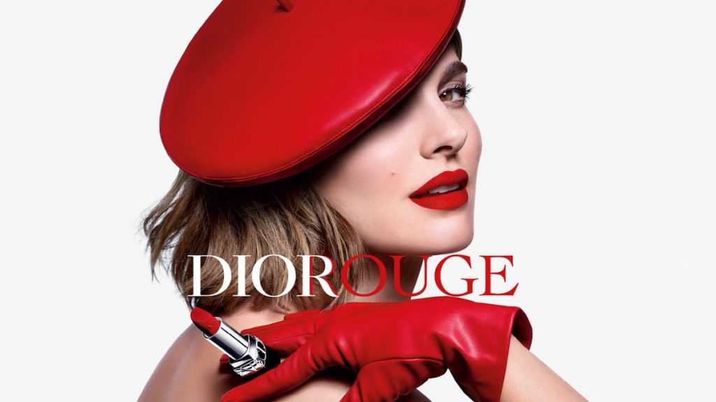 Насыщенный красный: Натали Портман стала лицом новой помады от Dior