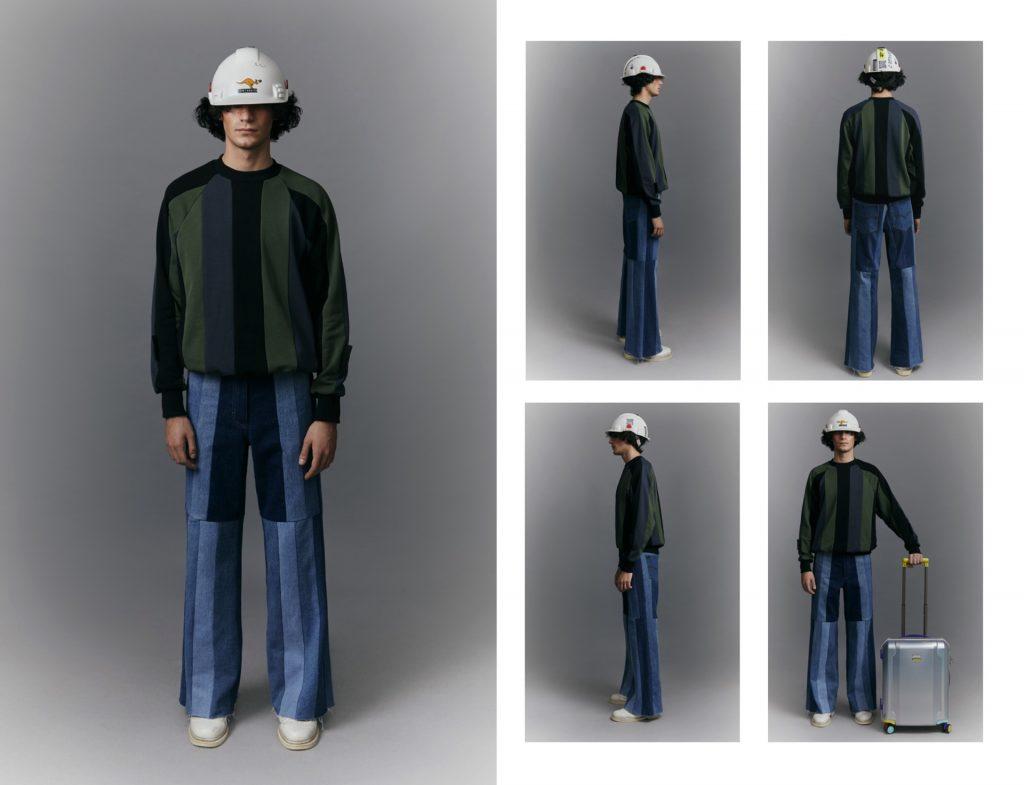Универсальный гардероб: Ksenia Schnaider показали мужскую линейку