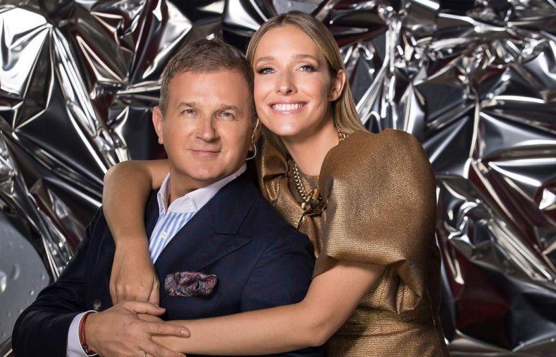 Юрий Горбунов и Катя Осадчая трогательно поздравили друг друга с годовщиной свадьбы