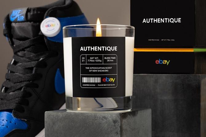 Свечи с запахом новых кроссовок: чем удивил новый запуск от eBay
