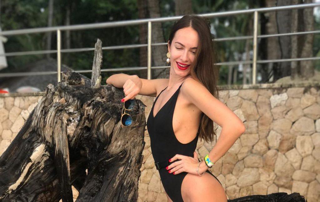 Супруга Владимира Остапчука ответила хейтерам на критику своей фигуры