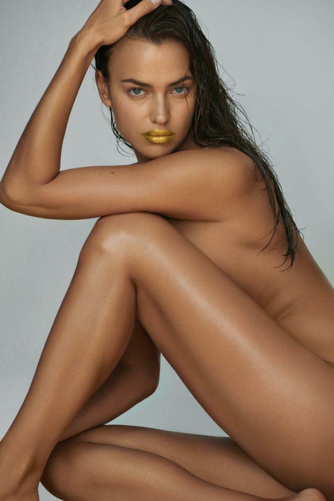 Mimi Luzon выпустили золотую маску для губ совместно с Ириной Шейк