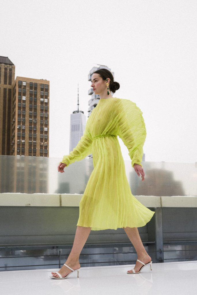 Украинский бренд J'amemme показал новую линейку на Неделе моды в Нью-Йорке