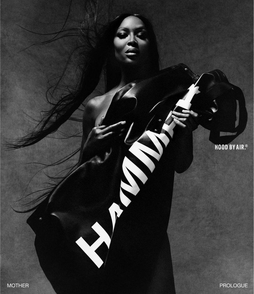 Громкое возвращение: Наоми Кэмпбелл стала лицом нового кампейна от Hood By Air