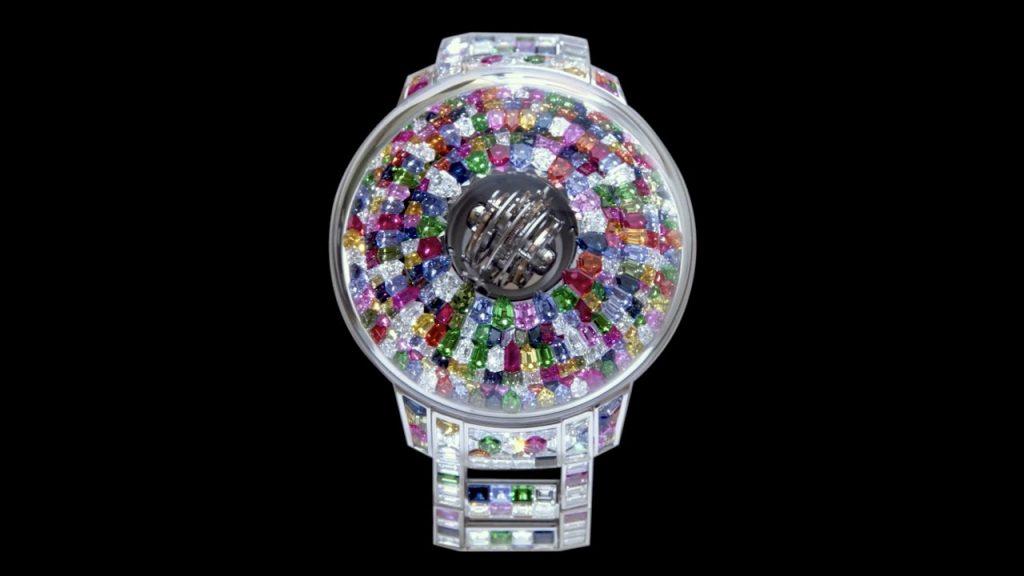 JACOB & CO создали часы полностью из драгоценных камней