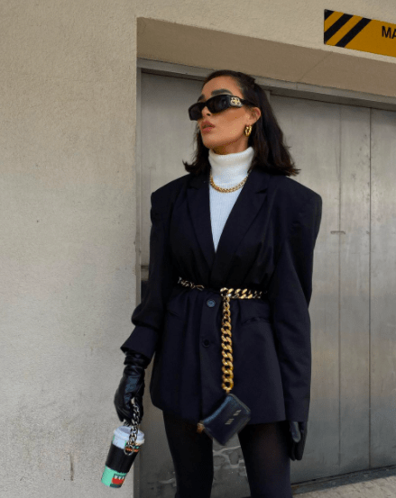 Как носить удлиненный пиджак: топ 4 трендовые идеи