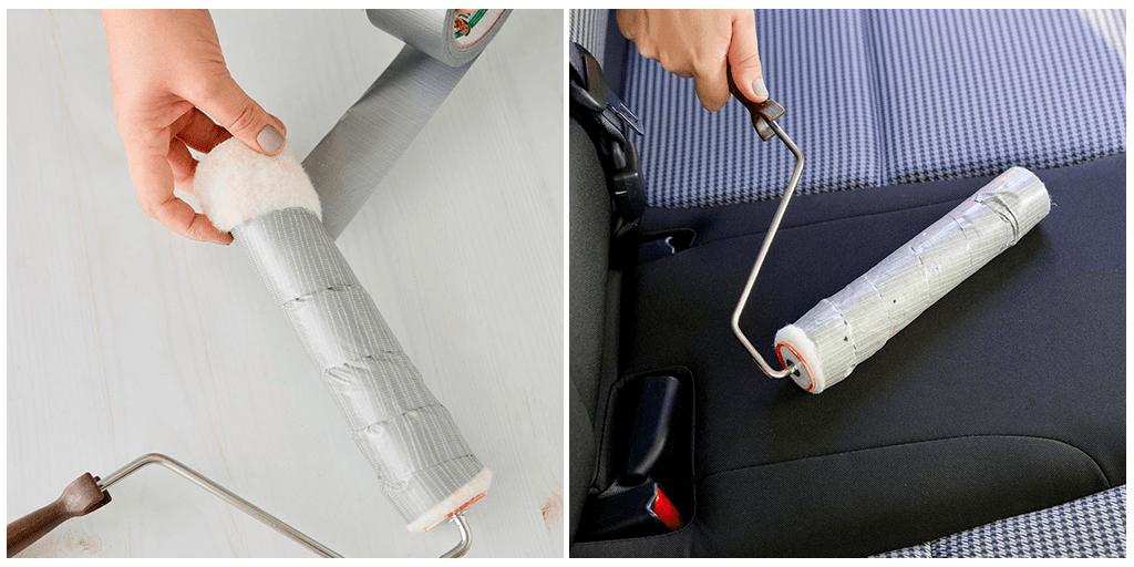 Как сделать собственный суперлипкий валик для удаления шерсти питомцев