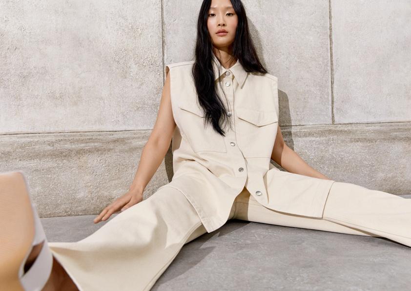 Минимализм из 90-х: что показали H&M в новом запуске