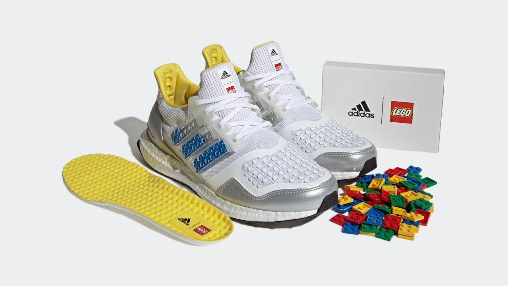 Долгожданная коллаборация: Adidas показали кроссовки созданные с Lego