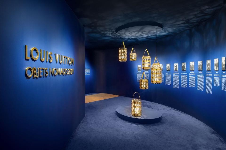 Мебель и декор для дома: Louis Vuitton устроили роскошную выставку