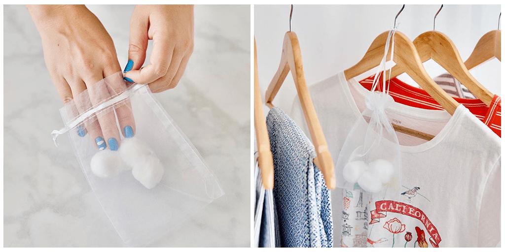 30-секундный совет, как сохранить свежесть одежды и постельного белья