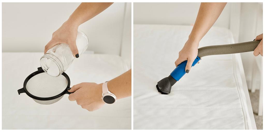 3 секретных шага, как быстро и без особых усилий очистить матрас