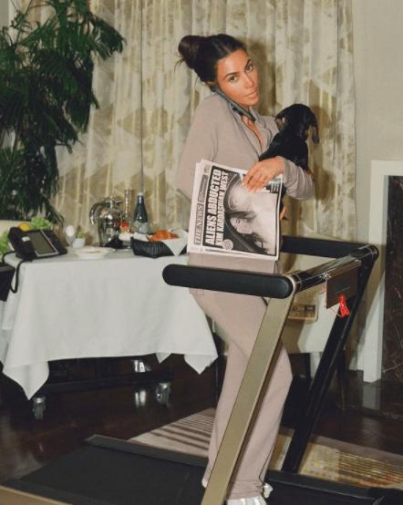 Первые полосы: Ким Кардашян стала лицом нового кампейна от собственного бренда Skims