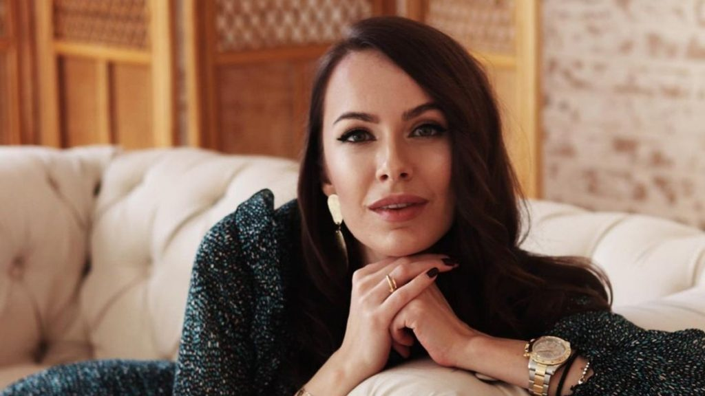 Супруга Владимира Остапчука показала, кому обязана своей внешностью
