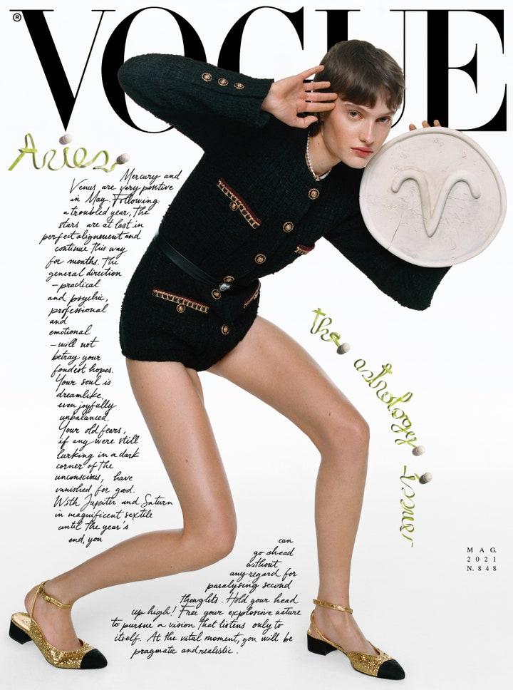 12 вариантов: итальянский Vogue посвятил новый номер гороскопам