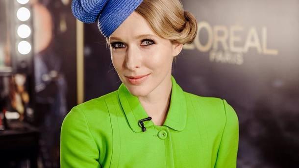 Катя Осадчая показала, как выглядела в начале своей телевизионной карьеры
