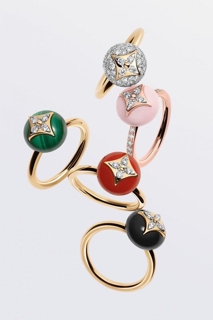 Louis Vuitton переосмыслили фирменную монограмму для новой коллекции украшений