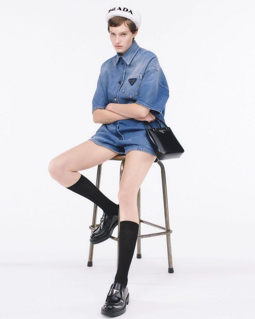 Это надо видеть: Prada выпустили коллекцию целиком из денима