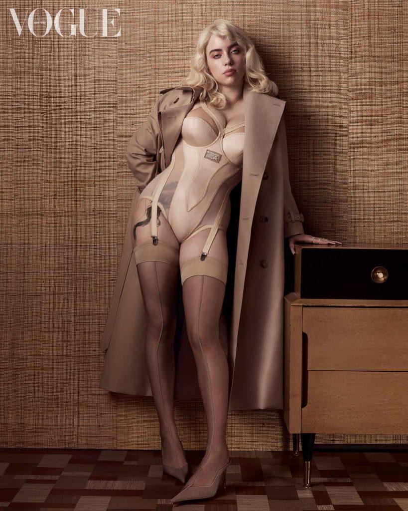 Горячо: Билли Айлиш в сексуальном образе взорвала сеть фотосессией для Vogue