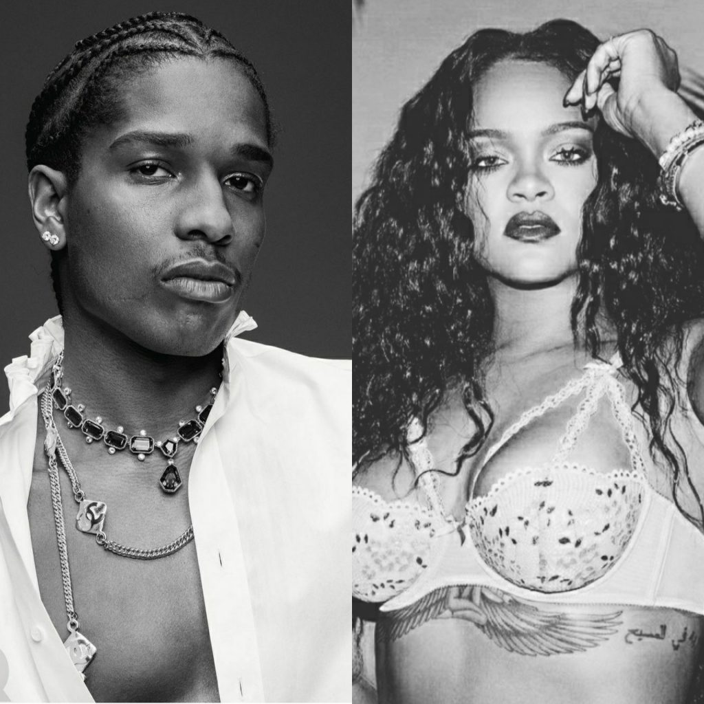 Официально: Rihanna встречается с рэпером Asap Rocky