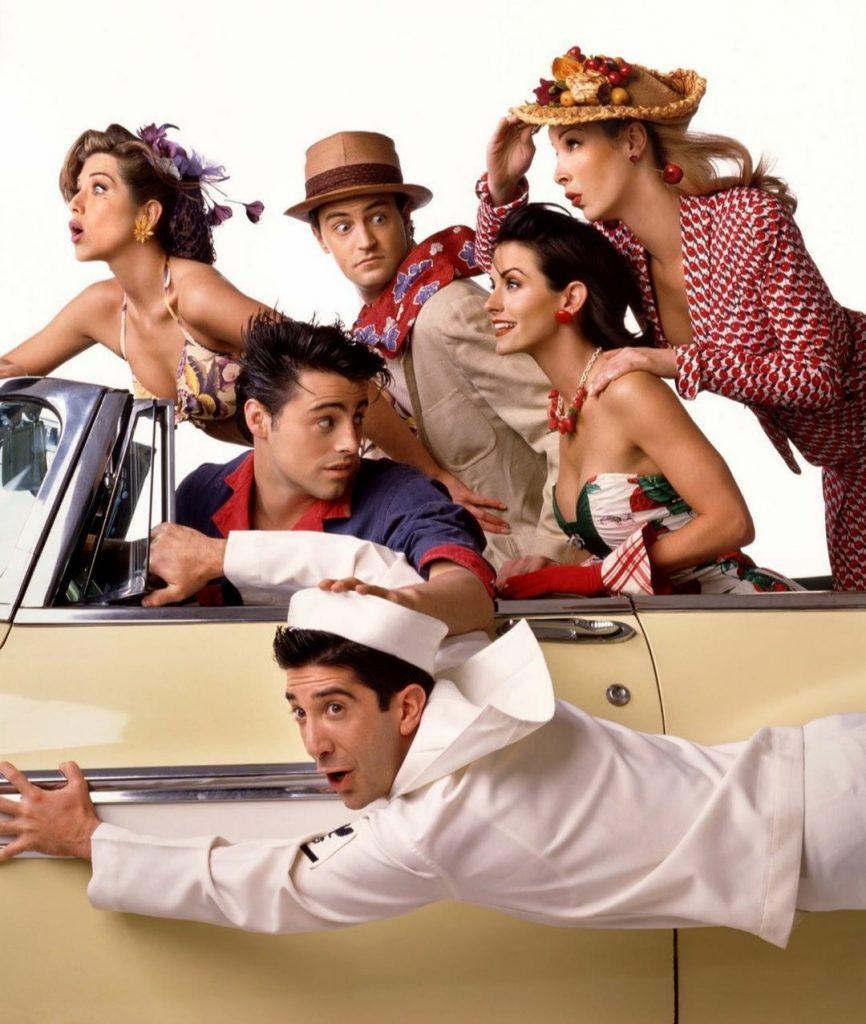 Актеры сериала «Друзья» снялись в фотосессии для глянца