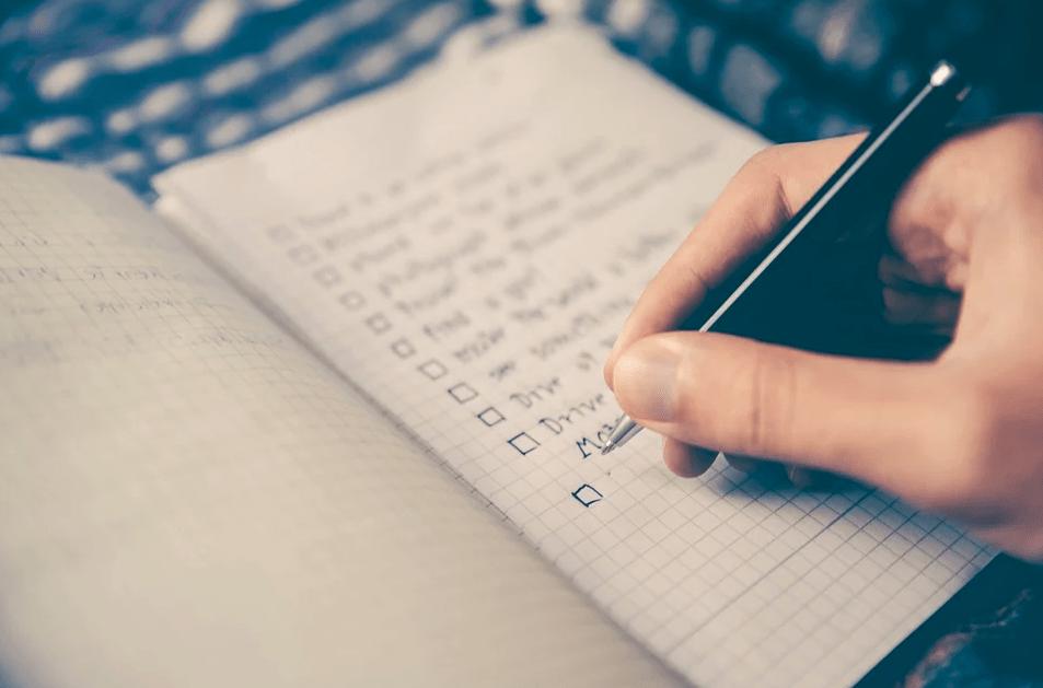 4 шага, как составить эффективный и удобный список дел