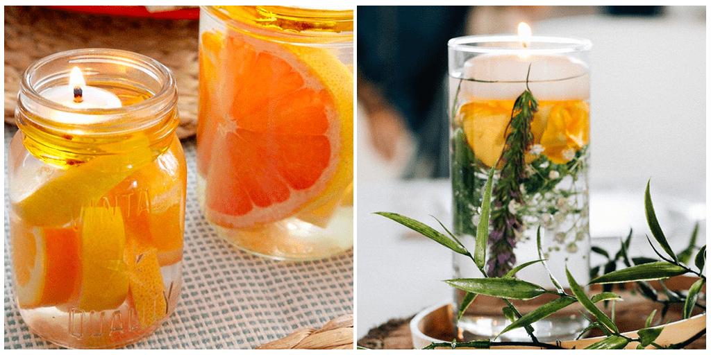 Атмосфера уюта: как сделать водяную свечу в домашних условиях