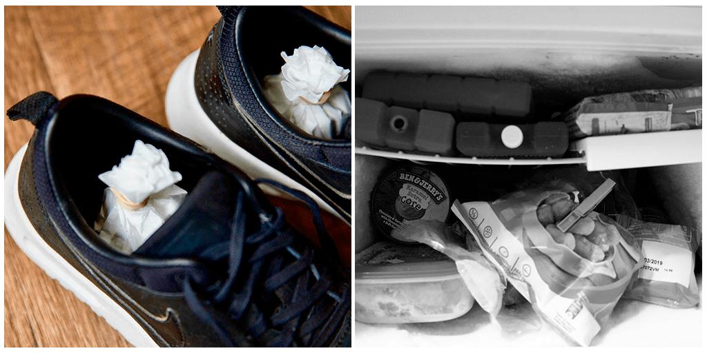 Простой (и дикий) способ избавиться от неприятного запаха в обуви