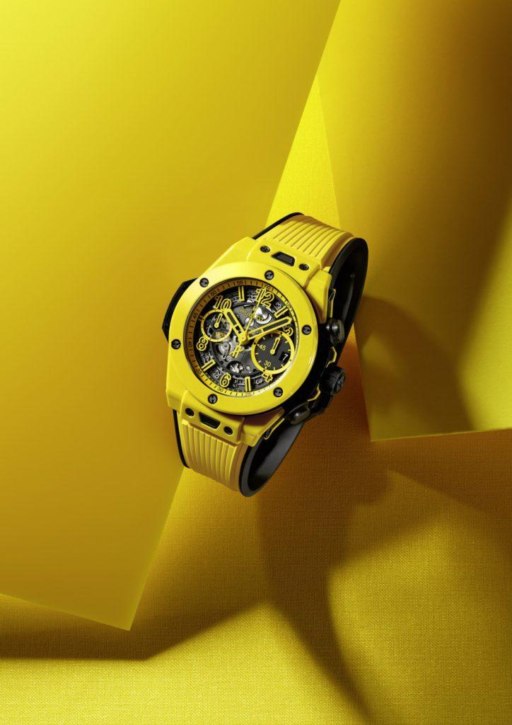 Цвет 2021 года: Hublot показывают яркие часы в желтом оттенке