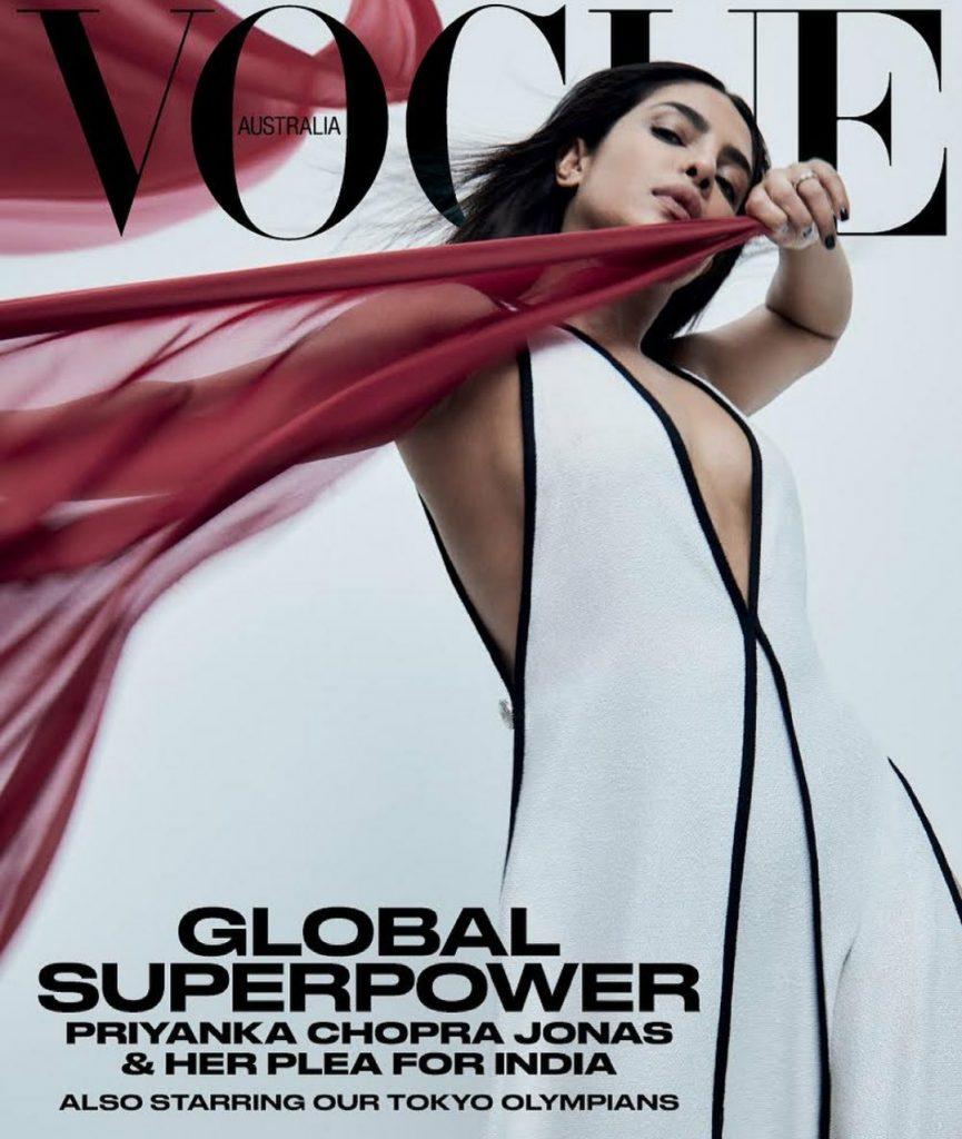 Приянка Чопра украсила обложку Vogue