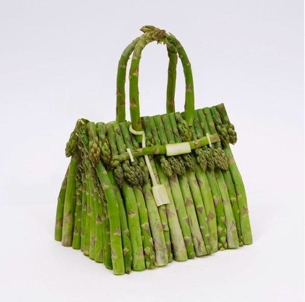 Съедобные Birkin: Hermès создали культовые модели сумок из овощей