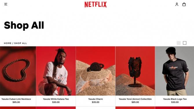 Тоже в моде: Netflix открыли магазин одежды